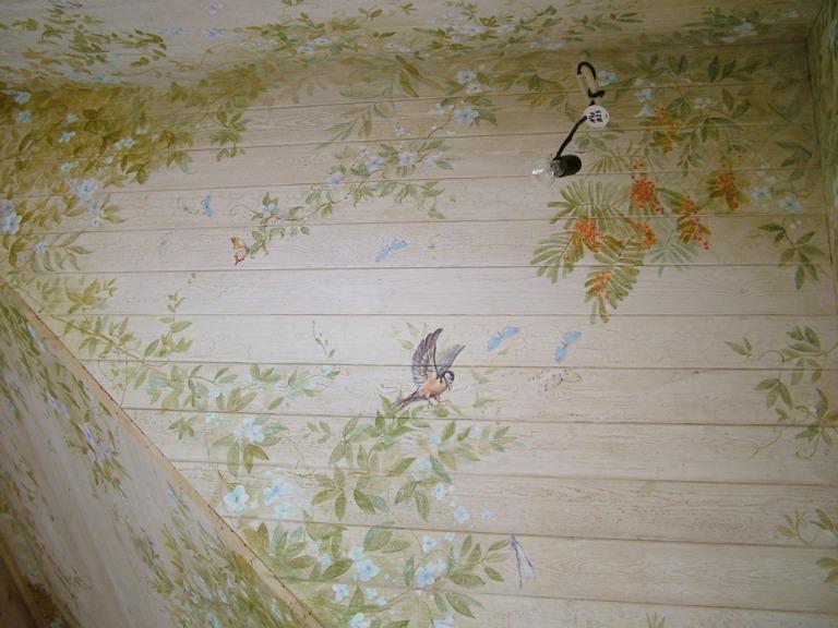 Декупаж на потолке своими руками фото 21